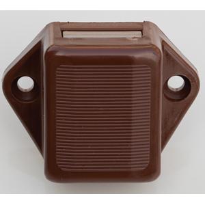 accessoires TRIGANO SERVICE SERRURE MINI PUSH-LOCK PLACARD MARRON