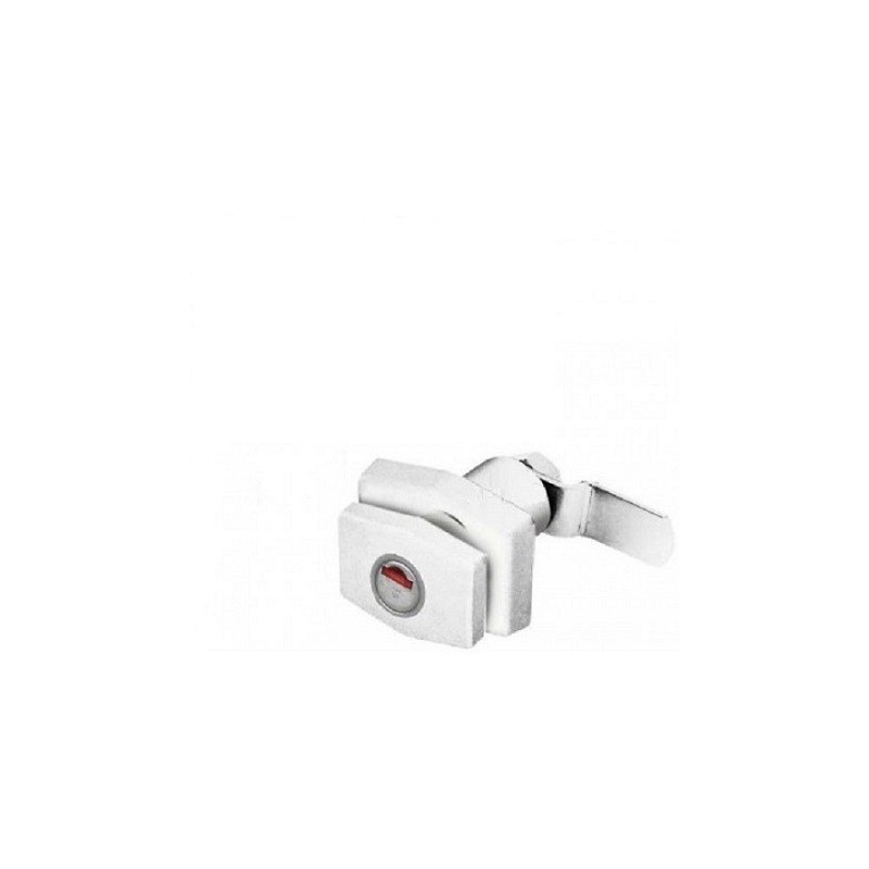 accessoires TRIGANO SERVICE SERRURE PUSH HEXAGONALE BLANC RAL9001